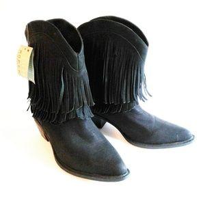 Roper Fringe Cowboy Boots Size 10 NEW